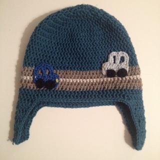 On The Road Again Crochet Hat For Boys And Girls Maritparit